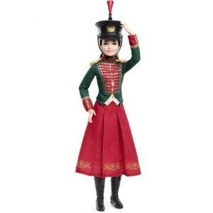 NWT Barbie The Nutcracker Clara Toy Soldier Doll